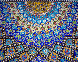 Horror vacui - Mosque Tiles